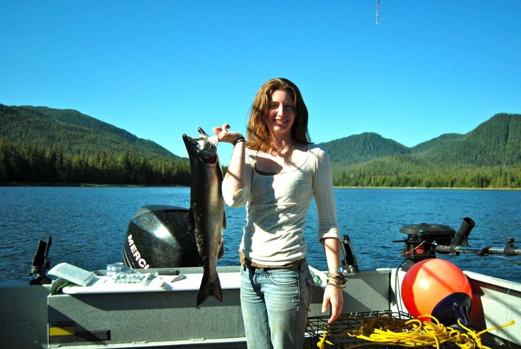 Charter Salmon Fishing Trips in Ketchikan Alaska